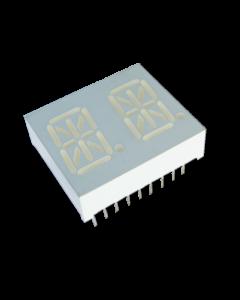 Dual Digit Alphanumeric Displays